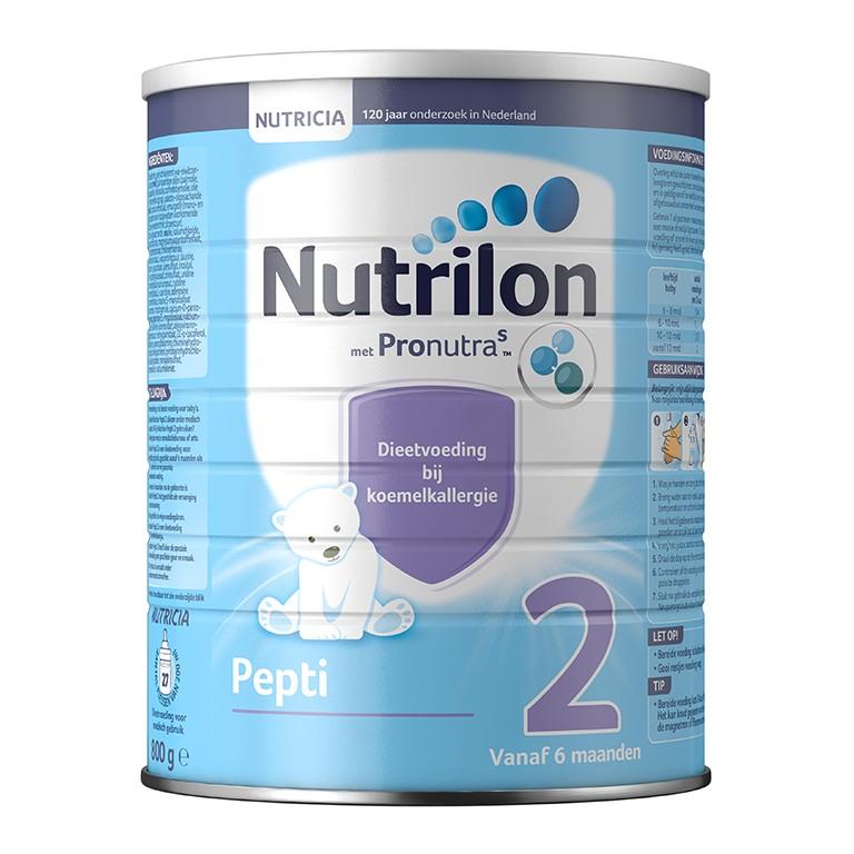 Nutrilon 牛栏深度全水解抗蛋白过敏低敏奶粉 2段 (1罐800克)