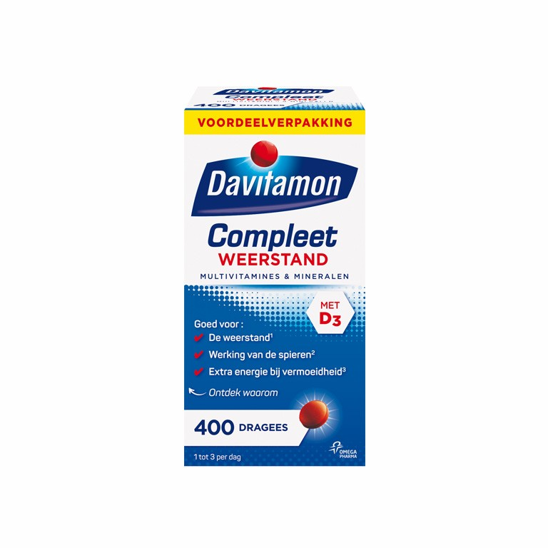 Davitamon  多重维生素矿物质增强免疫力营养片 (1 盒 of 400 件)