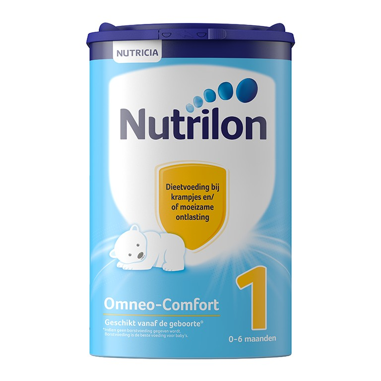 Nutrilon 牛栏舒适腹绞痛或通便困难特殊配方奶粉 1段 (1盒800克)